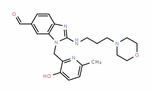 1-((3-hyDroxy-6-methylpyriDin-2-yl)methyl)-2-((3-morpholinopropyl)amino)-1H-benzo[D]imiDazole-6-carbalDehyDe