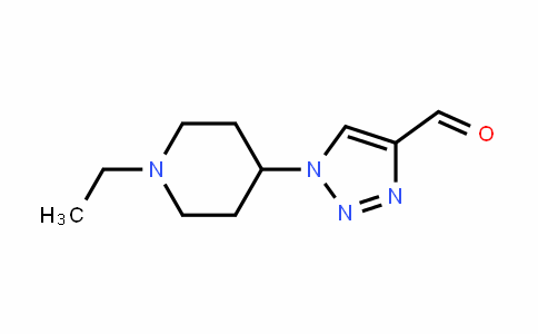 1-(1-ethylpiperiDin-4-yl)-1H-1,2,3-triazole-4-carbalDehyDe