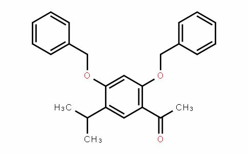 1-(2,4-双(苄氧基)-5-异丙苯基)乙酮