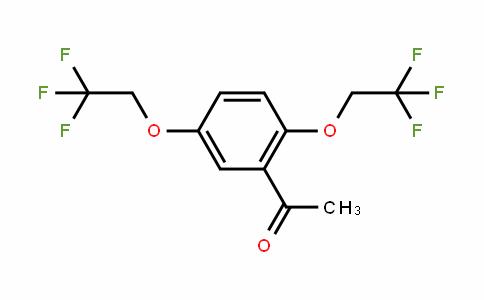 1-(2,5-bis(2,2,2-trifluoroethoxy)phenyl)ethanone