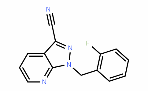 1-(2-氟苄基)-1H-吡唑并[3,4-b]吡啶-3-甲腈