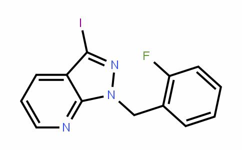 1-(2-Fluorobenzyl)-3-ioDo-1H-pyrazolo[3,4-b]pyriDine