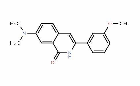 1(2H)-Isoquinolinone, 7-(Dimethylamino)-3-(3-methoxyphenyl)-