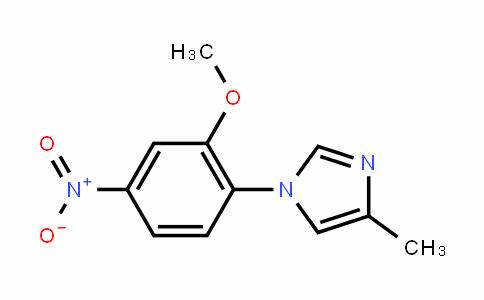 1-(2-methoxy-4-nitrophenyl)-4-methyl-1H-imiDazole
