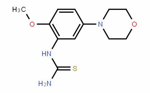 1-(2-methoxy-5-morpholinophenyl)thiourea