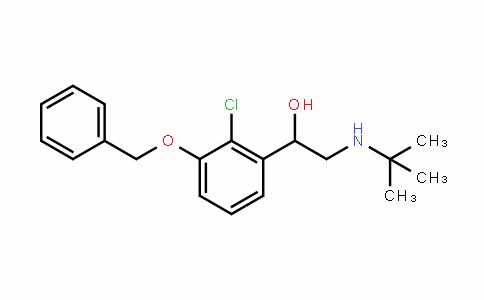 1-(3-(benzyloxy)-2-chlorophenyl)-2-(Tert-butylamino)ethanol