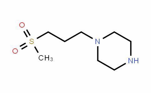 1-(3-(methylsulfonyl)propyl)piperazine