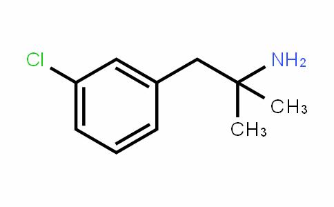 1-(3-chlorophenyl)-2-methylpropan-2-amine