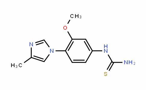 1-(3-methoxy-4-(4-methyl-1H-imiDazol-1-yl)phenyl)thiourea