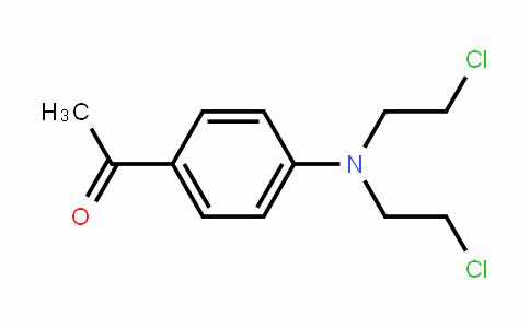 1-(4-(Bis(2-chloroethyl)amino)phenyl)ethanone
