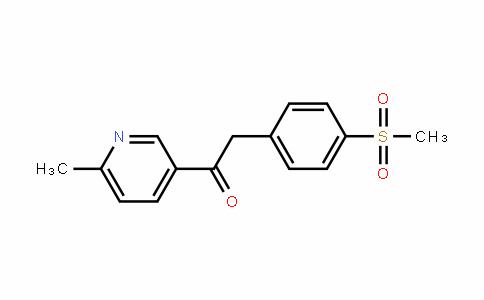 2-(4-甲磺酰基苯基)-1-(6-甲基吡啶-3-基)-乙酮
