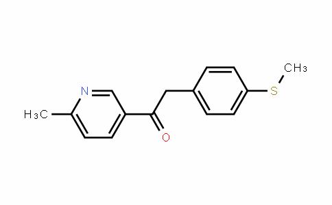 1-(6-methylpyriDin-3-yl)-2-[4-(methylthio)phenyl]ethanone