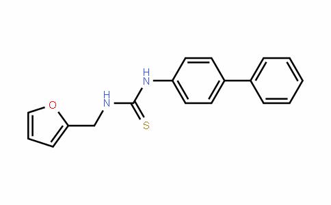 1-(biphenyl-4-yl)-3-(furan-2-ylmethyl)thiourea