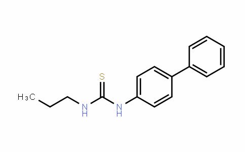 1-(biphenyl-4-yl)-3-propylthiourea