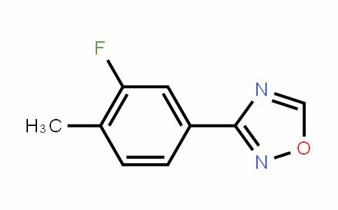 1,2,4-OxaDiazole, 3-(3-fluoro-4-methylphenyl)-