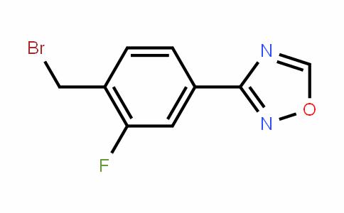 1,2,4-OxaDiazole, 3-[4-(bromomethyl)-3-fluorophenyl]-