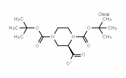 1,2,4-Piperazinetricarboxylic acid, 1,4-bis(1,1-Dimethylethyl) ester, (2R)-