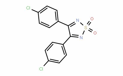 1,2,5-ThiaDiazole, 3,4-bis(4-chlorophenyl)-, 1,1-DioxiDe