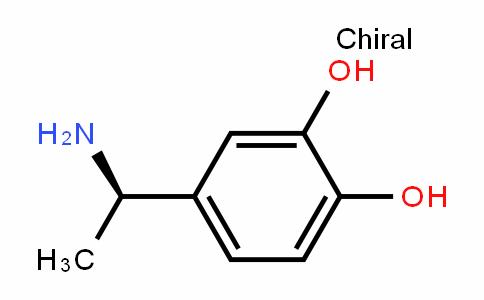 1,2-BenzeneDiol, 4-(1-aminoethyl)-, (R)- (9CI)