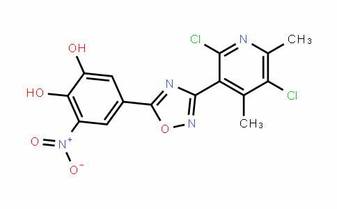 1,2-BenzeneDiol, 5-[3-(2,5-Dichloro-4,6-Dimethyl-3-pyriDinyl)-1,2,4-oxaDiazol-5-yl]-3-nitro-