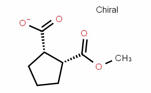 1,2-CyclopentaneDicarboxylic acid, 1-methyl ester, (1R,2S)-rel-