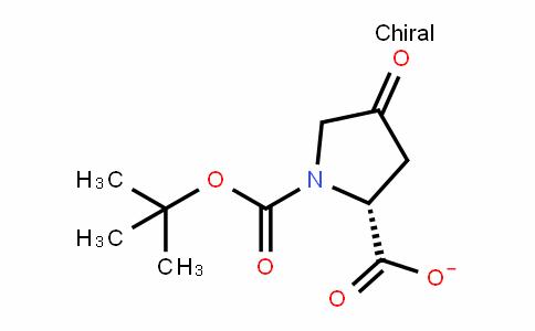 1,2-PyrroliDineDicarboxylic acid, 4-oxo-, 1-(1,1-Dimethylethyl) ester, (2R)-