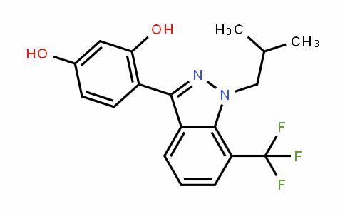 1,3-BenzeneDiol, 4-[1-(2-methylpropyl)-7-(trifluoromethyl)-1H-inDazol-3-yl]-