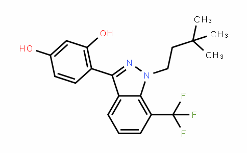 1,3-BenzeneDiol, 4-[1-(3,3-Dimethylbutyl)-7-(trifluoromethyl)-1H-inDazol-3-yl]-