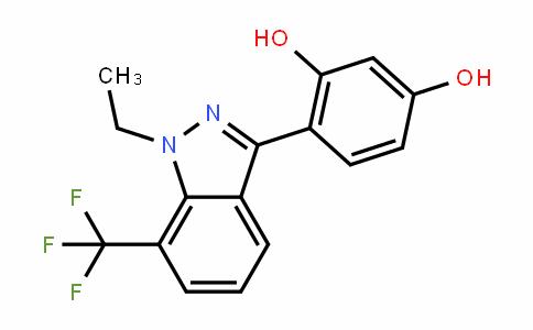 1,3-BenzeneDiol, 4-[1-ethyl-7-(trifluoromethyl)-1H-inDazol-3-yl]-