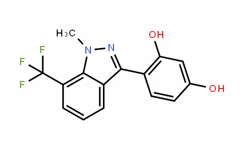 1,3-BenzeneDiol, 4-[1-methyl-7-(trifluoromethyl)-1H-inDazol-3-yl]-