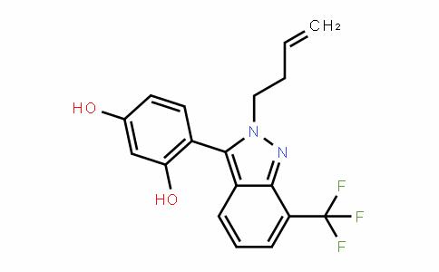 1,3-BenzeneDiol, 4-[2-(3-buten-1-yl)-7-(trifluoromethyl)-2H-inDazol-3-yl]-