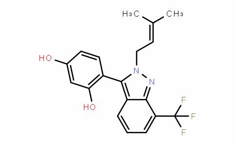 1,3-BenzeneDiol, 4-[2-(3-methyl-2-buten-1-yl)-7-(trifluoromethyl)-2H-inDazol-3-yl]-