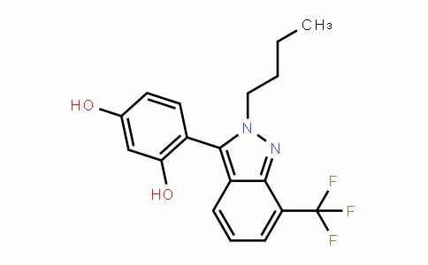 1,3-BenzeneDiol, 4-[2-butyl-7-(trifluoromethyl)-2H-inDazol-3-yl]-
