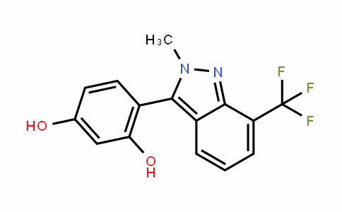 1,3-BenzeneDiol, 4-[2-methyl-7-(trifluoromethyl)-2H-inDazol-3-yl]-
