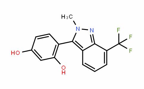 1,3-BenzeneDiol, 4-[2-methyl-7-(trifluoromethyl)-2H-inDazol-3-yl]-