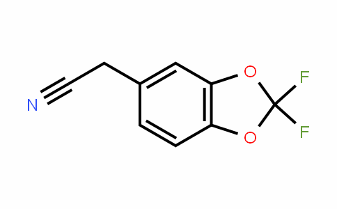 1,3-BenzoDioxole-5-acetonitrile, 2,2-Difluoro-