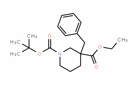 1,3-PiperiDineDicarboxylic acid, 3-(phenylmethyl)-, 1-(1,1-Dimethylethyl) 3-ethyl ester
