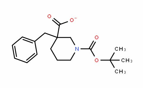 1,3-PiperiDineDicarboxylic acid, 3-(phenylmethyl)-, 1-(1,1-Dimethylethyl) ester