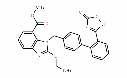 1-[[2'-(2,5-DihyDro-5-oxo-1,2,4-oxaDiazol-3-yl)[1,1'-biphenyl]-4-yl]methyl]-2-ethoxy-1H-benzimiDazole-7-carboxylic acid methyl ester