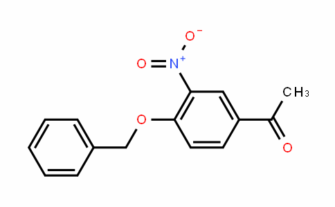 1-[3-nitro-4-(phenylmethoxy)phenyl]ethanone