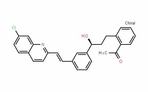 1-{2-[(3S)-3-{3-[(E)-2-(7-Chloro-2-quinolinyl)vinyl]phenyl}-3-hyDroxypropyl]phenyl}ethanone