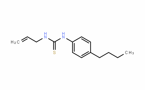 1-allyl-3-(4-butylphenyl)thiourea