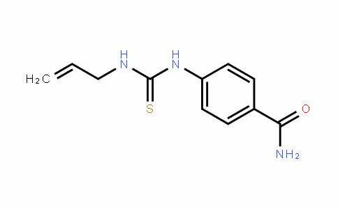 1-allyl-3-(4-carbamoylphenyl)thiourea