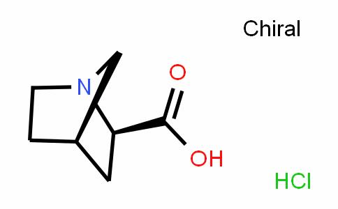 1-Azabicyclo[2.2.1]heptane-2-carboxylic acid, (HyDrochloriDe) (1:1), (1R,2R,4R)-rel-