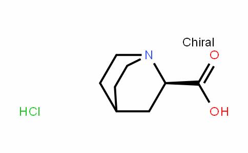 1-Azabicyclo[2.2.2]octane-2-carboxylic acid, hyDrochloriDe, (R)- (9CI)