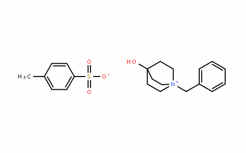 1-Azoniabicyclo[2.2.2]octane, 4-hyDroxy-1-(phenylmethyl)-, 4-methylbenzenesulfonate (1:1)