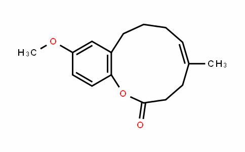 1-BenzoxacyclounDecin-2(3H)-one, 4,7,8,9-tetrahyDro-11-methoxy-5-methyl-, (5Z)-