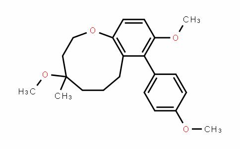 1-Benzoxonin, 2,3,4,5,6,7-hexahyDro-4,9-Dimethoxy-8-(4-methoxyphenyl)-4-methyl-