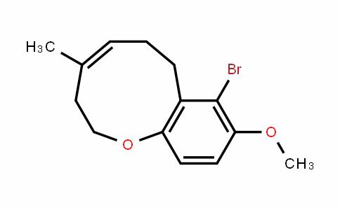 1-Benzoxonin, 8-bromo-2,3,6,7-tetrahyDro-9-methoxy-4-methyl-, (4Z)-