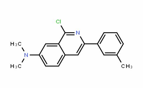 1-chloro-N,N-Dimethyl-3-m-tolylisoquinolin-7-amine